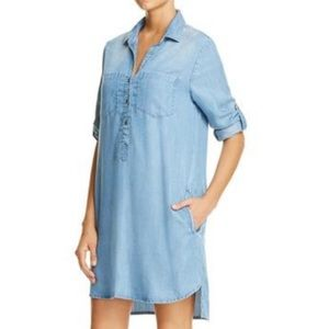 Beachlunchlounge Phoebe chambray shirt dress